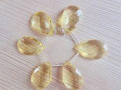 Beautiful and Superb quality Lemon quartz by Gemstonebeadsfinding