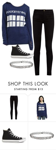 """""""Something Old, Something New, Something Borrowed, Something Blue"""" by photogeekgirl ❤ liked on Polyvore featuring Gucci, Converse, Miss Selfridge, doctorwho and tardis"""