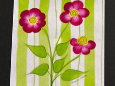 One Stroke Painting Techniques in Florals by Susan Earl.