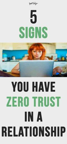 When you don't have trust in a relationship, things can end quicker than they started. If you find yourself checking his social media, sneaking a peek at their phone, or worrying when they go out with friends, you have serious trust issues.