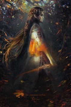 Phoenix by Bente Schlick   Fantasy   2D   CGSociety