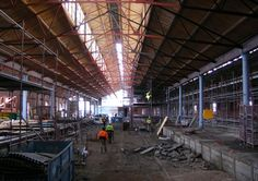 Internal view Goods Shed North