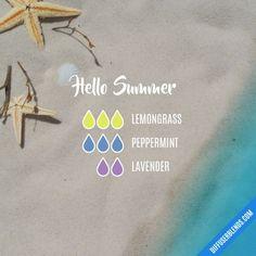 Hello Summer Diffuser Blend