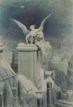 mayourbodiesremain: Gustave Doré (1832-1883) Christmas Eve