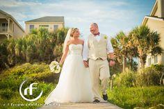 Charleston, SC Beach Wedding | Seaside Point at Wild Dunes Resort | R. Frank Photography | #WildDunesWeddings http://wilddunesweddings.com