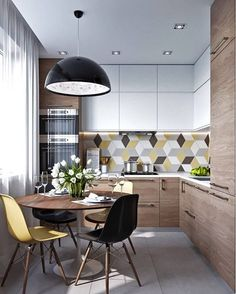 More ideas below: Small L Shaped Kitchen With Island Floor Plans Galley L Shaped Kitchen Layout Design Farmhouse L Shaped Kitchen With Peninsula Tiny L Shaped Kitchen Remodel Ideas L Shaped Kitchen With Pantry and Bar Living Room Kitchen, Home Decor Kitchen, Home Kitchens, Kitchen Ideas, Dining Rooms, Decorating Kitchen, Apartment Kitchen, Modern Kitchens, Kitchen Tables