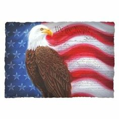 """Patriotic Paper Placemats 125 Per Pack by Hoffmaster. $13.89. Size: 9.75"""" x 14"""". Manufactured to the Highest Quality Available.. Design is stylish and innovative. Satisfaction Ensured.. For over 60 years Hoffmaster has lead the industry in producing the most complete line of specialty disposable tabletop products. With innovation as the cornerstone of their success, Hoffmaster has always been the trend setter - setting the standard for color, fashion, and design excellence"""