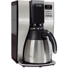 Mr Coffee 10 Cup Optimal Brew Thermal Coffee Maker Stainless Steel >>> Find out more about the great product at the image link. (This is an affiliate link) Coffee Maker Reviews, Best Coffee Maker, Drip Coffee Maker, Thermal Coffee Maker, Great Coffee, Coffee Coffee, Coffee Store, Coffee Brewer, Coffee Beans