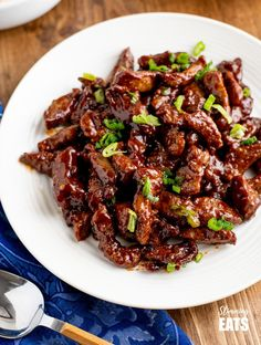 Low Syn Sweet Chilli Beef | Slimming Eats - Slimming World Recipes Chilli Beef Recipe, Sweet Chilli Sauce, Diet Soup Recipes, Beef Recipes, Healthy Recipes, Recipies, Slimming Eats, Slimming World Recipes, Chinese Fakeaway