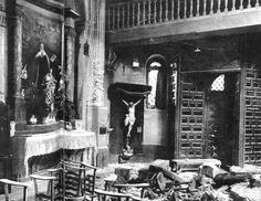 LOS SUCESOS DE MAYO DE 1931. LA QUEMA DE IGLESIAS Y CONVENTOS EN MADRID A…