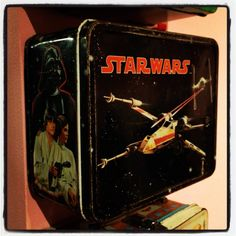 The most classic lunchbox ever - Star Wars :)