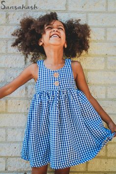Lilah is a simple but gorgeous low neckline design that can be made in both knit and woven fabric. Girls Spring Dresses, Dresses Kids Girl, Kids Outfits, Little Girl Fashion, Kids Fashion, Fashion 2020, Winter Fashion, Toddler Dress, Toddler Girl Clothing