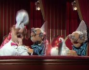 Statler and Waldorf/Gallery Statler And Waldorf, The Muppet Show, Treasure Island, Haunted Mansion, Christmas Carol, Puppet, Holiday Fun, Gallery, Christmas Music
