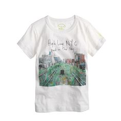 Kids' crewcuts for High Line 11th Avenue and 30th Street photo tee
