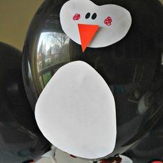 For the bow & arrow reveal  DIY Penguin Balloon | Penguin Party