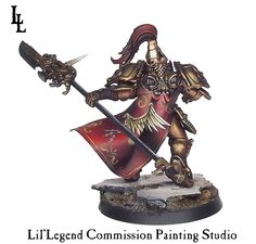 Talon of the Emperor - Custodes Guard ~ LilLegend Commission Painting Studio