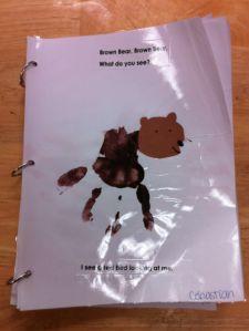 Brown Bear, Brown Bear class book