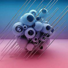 Beautiful 3D render by @motionfilter_aka_motorman  #smartonliners #smartonliner #smart_onliner #smart_onliners #graphics #graphicsdesigning #graphicsdesign #c4d #renders #cinema4d #art #design #digitalart #mograph #photoshop #spheres #maxon #picoftheday #adobe #inspiration #digital #instagram #3d