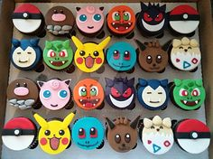 by clvmoore on DeviantArt Pokemon Cake! by clvmoore on DeviantArt Pokemon Birthday Cake, Pokemon Party, Birthday Cupcakes, 7th Birthday, Pokemon Invites, Pokemon Cupcakes Toppers, Fondant Cupcake Toppers, Pokemon Cakes, Pokemon Pokemon
