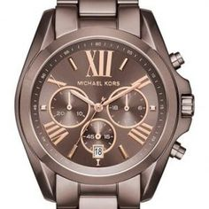 Shop for Michael Kors Women's 'Bradshaw' Chronograph Brown Stainless Steel Watch. Get free delivery On EVERYTHING* Overstock - Your Online Watches Store! Stainless Steel Watch, Stainless Steel Bracelet, Sparkly Heels, Nordstrom, Handbags Michael Kors, Strap Heels, Fashion Watches, Michael Kors Watch, Wedding Shoes
