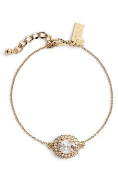 kate spade new york 'sweet sparkle' station bracelet available at #Nordstrom