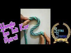 Αυτόματη Crochet Handles, Macrame Bag, Spiral, Knots, Diy And Crafts, Bracelets, Youtube, Bags, Blouse