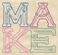 Make | Urban Threads: Unique and Awesome Embroidery Designs