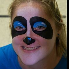 My panda make up for derby