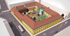 Incep lucrarile la Centrul Multicultural din Timisoara, care va gazdui Muzeul Cetatii FOTO Basketball Court