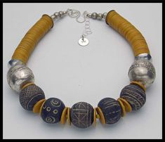 TIMBUKTU 100 Yr Old Mali Clay Beads by sandrawebsterjewelry, $199.99