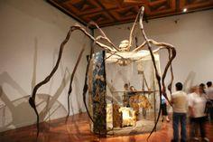 Exposición en el Museo del Palacio de Bellas Artes. Spider 1997