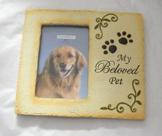 """My Beloved Pet"" 4x6 Memorial Photo Frame by GANZ"