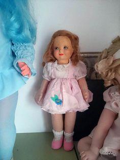 Bambola LENCI anni '30 in feltro pannolenci originale cm.25 ottime condizioni