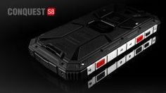 Smartphone, rugged, waterproof, phone CONQUEST S8