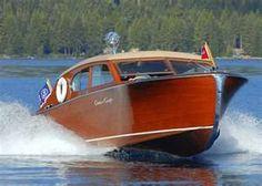 Cool Vintage Boat