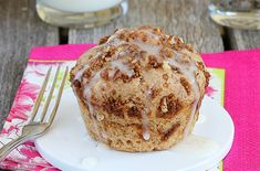 1 Minute Coffee Cake in a Mug  I replace the oil with applesauce for a low carb-fat free free treat!