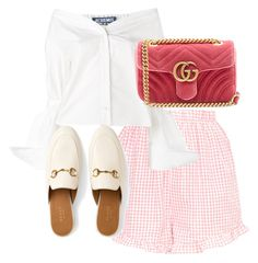 """""""Untitled #4375"""" by theeuropeancloset on Polyvore featuring Jacquemus and Gucci"""