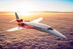 Aerion Supersonic Jet Can Get From London to New York in 4 Hours.. Thats a Millionaire lifestyle.