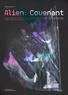 Day 360: Alien COVENANT. #amovieposteraday