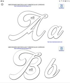 Creative Lettering, Lettering Styles, Hand Lettering, Alphabet Templates, Alphabet Art, Lettering Tutorial, Make Your Own Stencils, Hand Embroidery Patterns Free, Cursive Handwriting