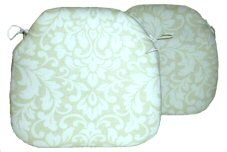 2 Spindle Chair Seat Pads Carlotti Natural