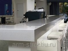 Барные стойки ,стойки ресепшн,подоконники из искуственного жидкого камня, цена 4444 руб./пог.м, купить в Чебоксарах — Tiu.ru (ID#53011990)