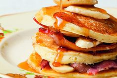 Best buttermilk pancakes recipe, NZ Womans Weekly – These are so good they should be banned Itamprsquos the sour cream that makes them extra special ampndash you can remove if desired and they still work well - Eat Well (formerly Bite) Brunch Recipes, Sweet Recipes, Breakfast Recipes, Thing 1, Buttermilk Pancakes, Baked Fish, Christmas Breakfast, Food Waste