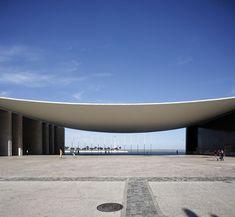Futuristic Architecture, Facade Architecture, Contemporary Architecture, Landscape Architecture, Halle, Entrance Gates, Gate Design, Building Exterior, Model Homes