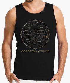 Estrellas, planetas y constelaciones en el cielo nocturno, para los aficionados a la astronomía y la noche