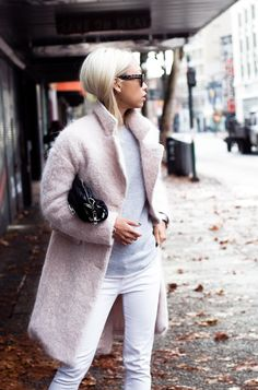 The Spring Color Combo Making a Splash on The Streets This Winter | WhoWhatWear.com