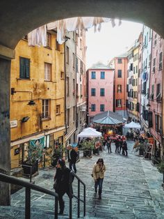 simply europe - wanderthewood: Genoa, Liguria, Italy by Marco...