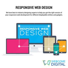 Our #responsive web development work is schemed and approached systematically to offer you with the right response on different display Screens with our responsive web Development. #Design #Development