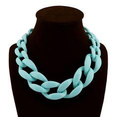 Chic Quality Fashion Acrylic Chunky Short Collar Necklace (Lead Free) | eBay