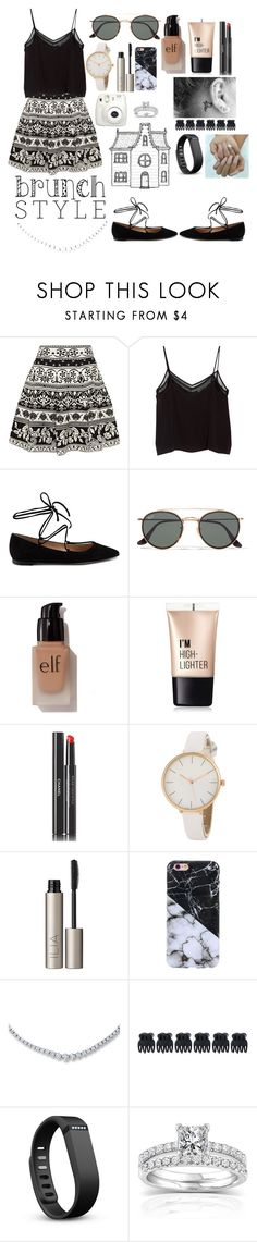 """""""Another brunch style"""" by piperizabella ❤ liked on Polyvore featuring Alexander McQueen, MANGO, Gianvito Rossi, Ray-Ban, e.l.f., Charlotte Russe, Chanel, Ilia, Accessorize and Fitbit"""
